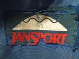 Jansport  Logo In The Early Years ( Early 70's)