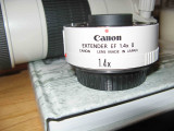 Canon 1.4x Tele Converter.  ( A Must Have)