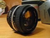 Nikkor F1.4 50mm Lens ( Classic Lens Of 35mm Film Yesteryear)