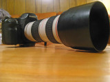 Canon 5D With 70mm-200mm  F4  L  Lens And Hood