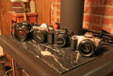 My Stable Of Film 35mm Cameras