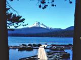 Mt. Jefferson From Ollie Lake Resort