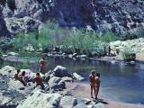 Deep Creek Hot Springs ( April  1977)