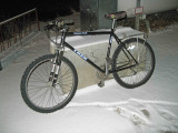 My  Comuter Bike With Studded Tires,, First Snow Of Year In Ardenvoir