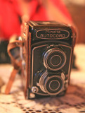 Grandma Dodge's  1950's Minolta Autocord  TLR Camera