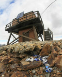 Garbage Of Beer Cans Left By Steliko Lookout