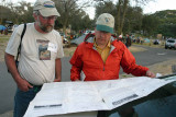 Eric Ryback Showing Deems Burton His Old PCT Guide Maps From His Trip In 1970