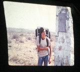 Eric At Finish Of His PCT Trip From Slide Show ( 1970 )