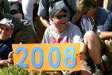 Jester Holds 2008 Thru-hiker Class Sign