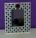 purple heart mirror