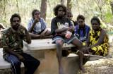 Aboriginal family, Kakadu, NT