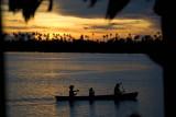 Evening on Langalanga Lagoon, Malaita