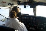 The short flight from Honiara to Auki