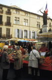Saturday market in Pezenas