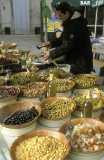 Olive varieties at the Pezenas market