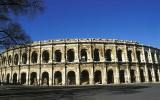 Les Arenes, the Roman amphitheatre in Nimes