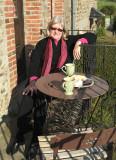Coffee at the farm, Les Mezerais