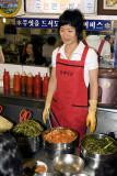 Namdaemun food vendor