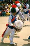 Folk dancer, Suwon
