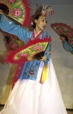 Fan dancer, Gyeongju