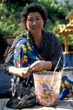 Preparing ginseng, Ulleungdo