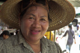 Fishmonger at Mahachai, outside Bangkok
