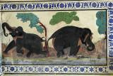 Mural at Kumbalgarh Fort
