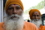 Sadhus or Hindu ascetics