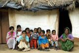 Kumaon villagers at Kaladhungi on Jim Corbett's old estate