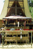 Viewing pavilion at a Toraja funeral