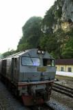 Train at Gua Musang