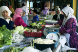 Local market in Kota Bharu