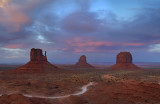 Monument Valley Mittens Sunset 1