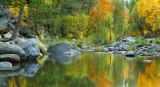 AZ - Oak Creek Fall Color Reflection 1