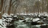 Oak Creek Snowy Rapids