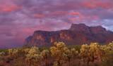 AZ - Western Superstitions Sunset