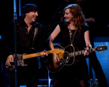 Steve Van Zandt and Patti Scialfa