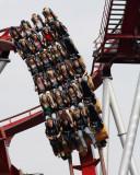 Roller Coaster in Copenhagen
