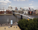 The Tate to St. Pauls in London