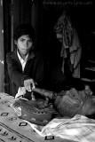 Boy Ironing