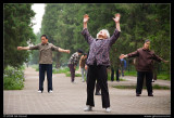 Temple of Heaven, Early Morning Tai Chi