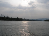 Late afternoon on the Mekong