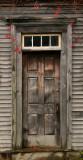 The old house door.