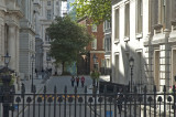 # 10 Downing Street is right thru that gate - the media is camped out on the doorstep