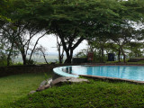 The pool at Serengeti Serena Lodge