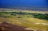 A view of Amboseli from the air