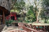 Amboseli Serena Lodge lounge & bar on viewing deck