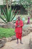 Maasai at Amboseli Serena Lodge
