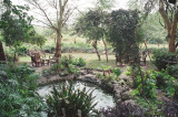Watering hole at Amboseli Serena Lodge