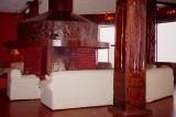 Bar area in the Sopa Lodge
